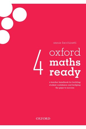 Oxford Maths Ready: Teacher Handbook - Year 4