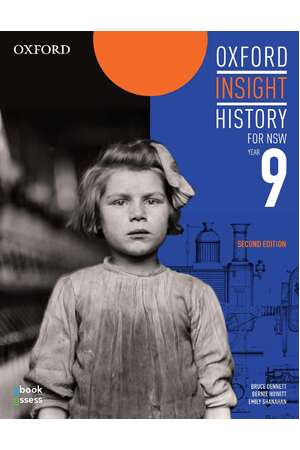 Oxford Insight History AC for NSW - Year 9: Student Book + obook assess (Print & Digital)