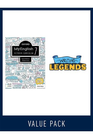 Oxford MyEnglish VIC & Writing Legends Student Pack - 7
