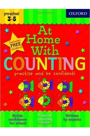 At Home With - Ages 3-5: Counting