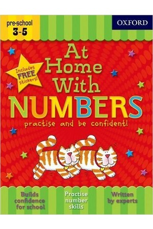 At Home With - Ages 3-5: Numbers