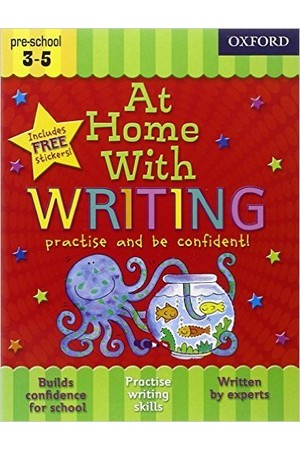 At Home With - Ages 3-5: Writing
