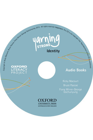 Yarning Strong - Audio CD: Identity