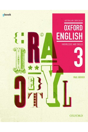 Oxford English 3 - Years 9-10: Student Book + obook/assess (Print & Digital)
