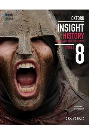 Oxford Insight History AC for NSW - Year 8: Student Book + obook assess (Print & Digital)