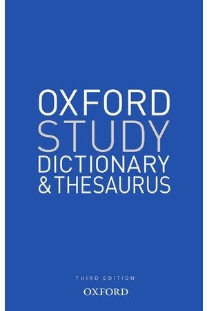 Oxford Study Dictionary & Thesaurus