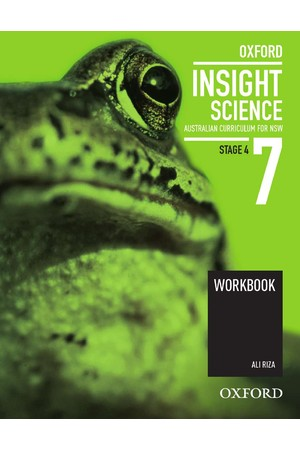 Oxford Insight Science AC for New South Wales - Year 7: Workbook (Print)