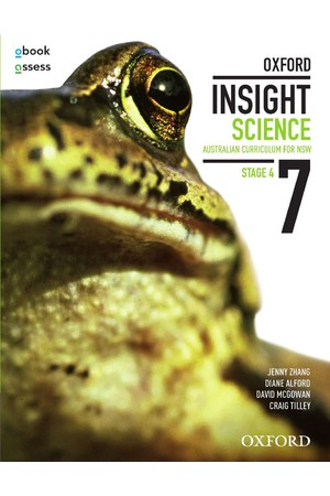 Oxford Insight Science AC for New South Wales - Year 7: Student Book + obook/assess (Print & Digital)