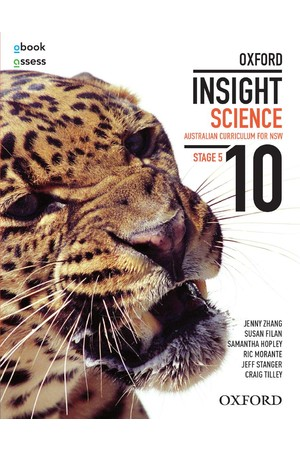 Oxford Insight Science AC for New South Wales - Year 10: Student Book + obook/assess (Print & Digital)