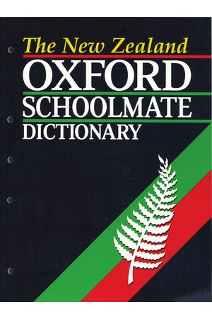 The New Zealand Oxford Schoolmate Dictionary