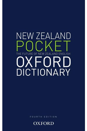 The New Zealand Pocket Oxford Dictionary