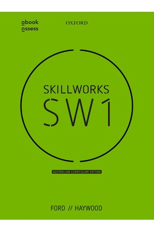 Skillworks 1 Australian Curriculum Edition - Student book + obook/assess (Print & Digital)