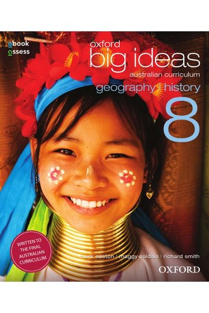 Oxford Big Ideas Geography/History AC - Year 8: Student Book + obook/assess (Print & Digital)