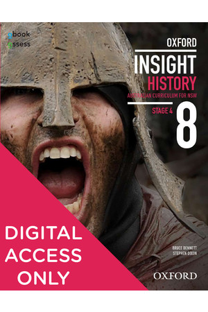 Oxford Insight History AC for NSW - Year 8: Student obook/assess (Digital Access Only)