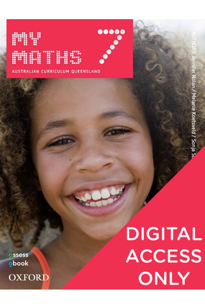 MyMaths Australian Curriculum for QLD - Year 7: Student obook/assess (Digital Access Only)