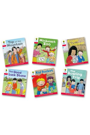 Biff, Chip and Kipper Stories: Decode and Develop - Level 4: Pack A (Pack of 6)