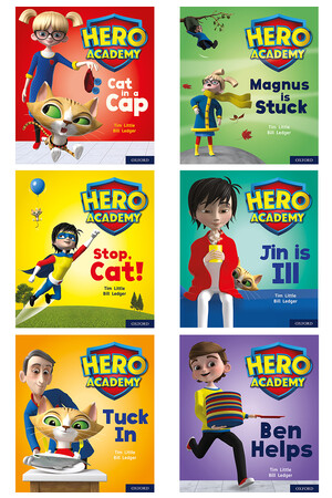 Hero Academy - Mixed Packs: Level 1+ (Letters and Sounds - Phase 2, Sets 3-5)