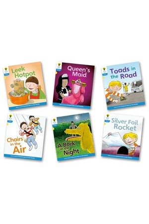Oxford Reading Tree: Floppy's Phonics (Level 4) - Fiction Set A (Pack of 6)