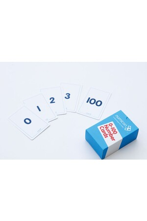 Numicon - Numeral Cards 0-100