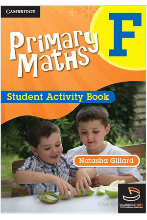Primary Maths - Student Activity Book: Foundation