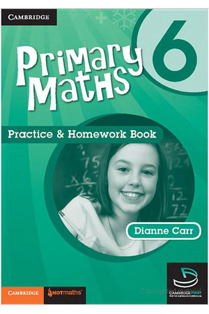 Primary Maths - Practice & Homework Books: Year 6