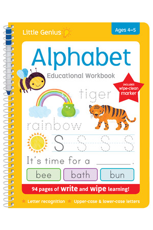 Little Genius - Write & Wipe Alphabet