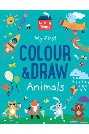 Activity House - My First Colour & Draw Animals