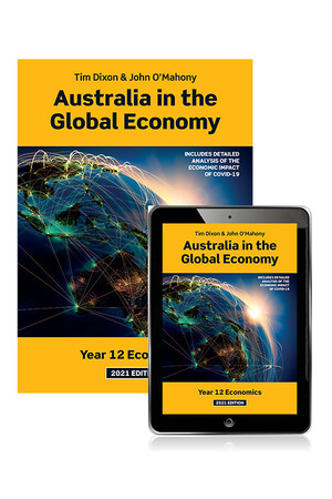 Australia in the Global Economy 2021 - Student Book with eBook (Print & Digital)
