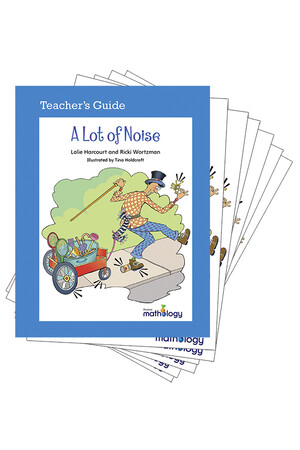 Mathology Little Books - Patterns and Algebra: A Lot of Noise (6 Pack with Teacher's Guide)