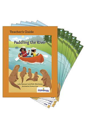Mathology Little Books - Number: Paddling the River (6 Pack with Teacher's Guide)