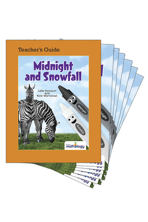 Mathology Little Books - Patterns and Algebra: Midnight and Snowfall (6 Pack with Teacher's Guide)
