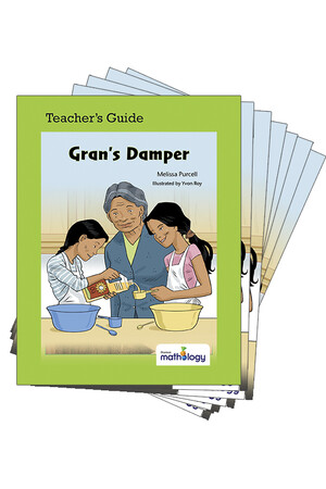 Mathology Little Books - Patterns and Algebra: Gran's Damper (6 Pack with Teacher's Guide)