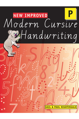 New Improved Modern Cursive Handwriting VIC - Prep/Pre-Primary