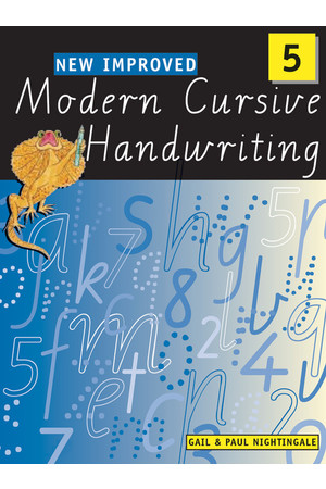 New Improved Modern Cursive Handwriting VIC - Year 5