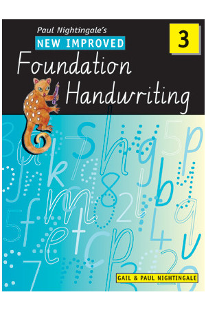 New Improved Foundation Handwriting NSW - Year 3