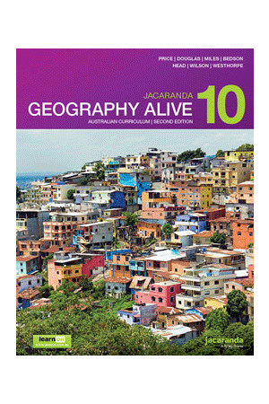 Geography Alive 10 Australian Curriculum (2nd Edition) - Student Book + learnON (Print & Digital)