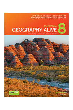 Geography Alive 8 Australian Curriculum (2nd Edition) - Student Book + learnON (Print & Digital)