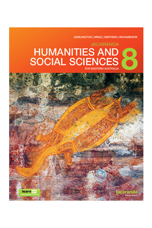 Humanities and Social Sciences 8 for WA - Student Book + learnON (Print & Digital)