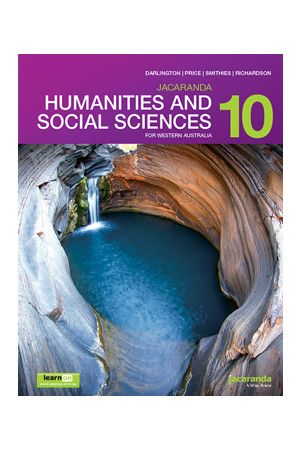 Humanities and Social Sciences 10 for WA - Student Book + learnON (Print & Digital)