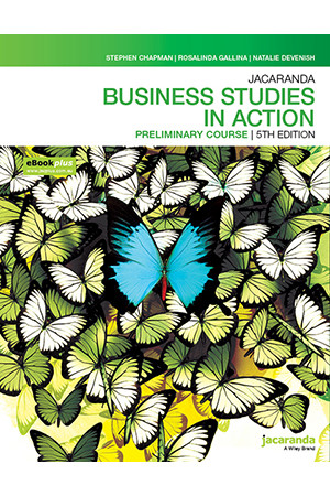 Jacaranda Business Studies in Action Preliminary Course - 5th Edition (eBookPLUS & Print)