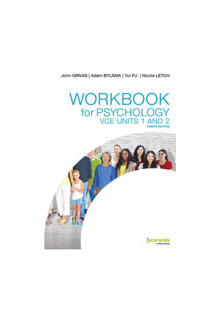 Psychology VCE Workbook - Units 1 & 2