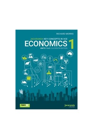 Jacaranda Key Concepts in VCE Economics 1 - Units 1 & 2 11E learnON & Print (includes free studyON)