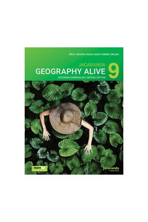Jacaranda Geography Alive 9 for the Victorian Curriculum - 2nd Edition (learnON & Print)