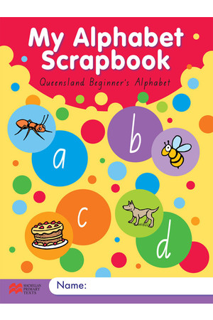 My Alphabet Scrapbook - QLD Beginner's Alphabet
