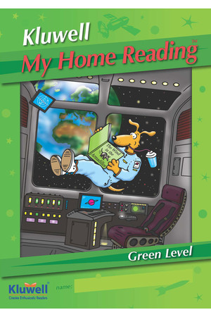 Kluwell My Home Reading Journal - Green