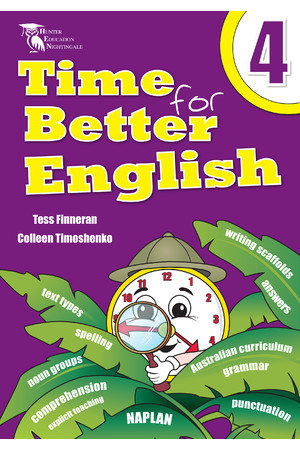 Time for Better English - Year 4