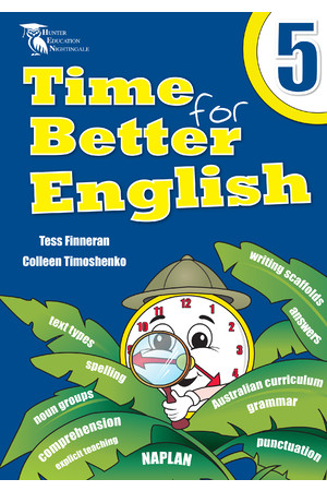 Time for Better English - Year 5