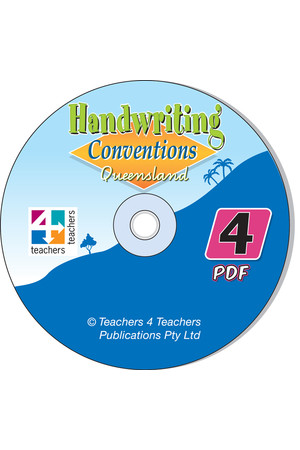 Handwriting Conventions - QLD: PDF CD (Year 4)
