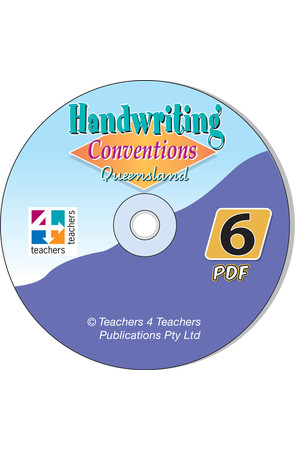 Handwriting Conventions - QLD: PDF CD (Year 6)