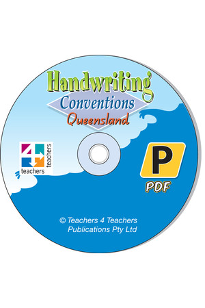 Handwriting Conventions - QLD: PDF CD (Prep)